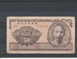 Viet Nam Billet 1951 De 50 Dong  AB 57662630 - Viêt-Nam