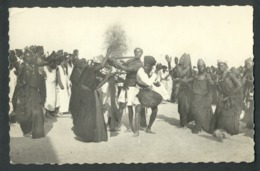 Danses Et Orchestre Dans Un Village - Flûte - Tambourin - Mauritania