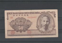 Viet Nam Billet 1951 De 50 Dong  AB 25154447 - Viêt-Nam