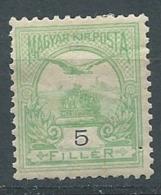 Hongrie   Yvert N° 41 (A) *  ( 1 Trou D'épingle ) -  Ava 28209 - Hongrie