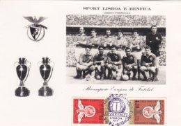 Portugal -Posta-l Benfica Bicampeão Europeu Carimbo 5 -2 -1963 - Portugal