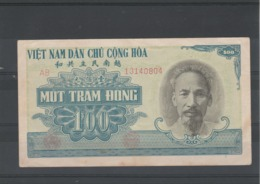 Viet Nam Billet 1951 De 100 Dong  AB 13140804 - Viêt-Nam