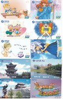 50 Cartes Différentes CHINE Lot5 - Cina