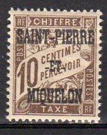 Saint-Pierre Et Miquelon Yvert N° 11 Taxe Neuf Lot 21-97 - Portomarken