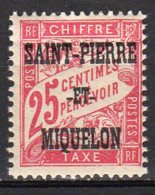 Saint-Pierre Et Miquelon Yvert N° 13 Taxe Neuf Lot 21-99 - Portomarken