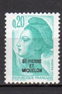 Saint-Pierre Et Miquelon Yvert N° 457 Neuf Liberté De Gandon Lot 21-154 - St.Pierre & Miquelon