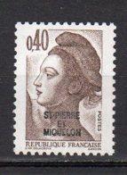 Saint-Pierre Et Miquelon Yvert N° 459 Neuf Liberté De Gandon Lot 21-156 - St.Pierre & Miquelon