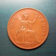 1 Penny Münze Aus Großbritannien Von 1938 (schön Bis Sehr Schön) - 1902-1971: Postviktorianische Münzen