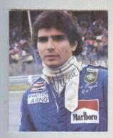NELSON PIQUET....AUTO..CAR....VOITURE....CORSE...PILOTA.. .FORMULA 1 UNO - Automobile - F1