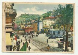 FIUME - VIA FIUMARA E PONTE DI CONFINE FRA L'ITALIA E LA JUGOSLAVIA 1941 - VIAGGIATA  FG - Croacia