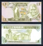 Zambia 2 Kwacha 1980 Pick 24 Unc - Congo