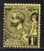 MONACO 1885 / 1914  - Y.T. N°  20 - NEUF* - Unused Stamps