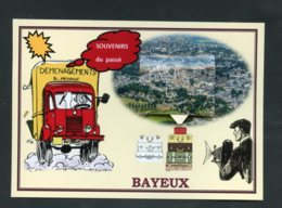14  BAYEUX  ... Cartes Systeme 8 Vues Anciennes - Bayeux