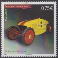 ANDORRE - Automobile: Soriano-Pedroso - French Andorra
