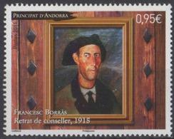 ANDORRE - Tableau De Francesc Borras - Andorra Francesa