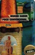 MEXICO. BEER - CERVEZA - BIER. CERVEZA INDIO. Indio - Pantalón. MX-TEL-P-1505. (096) - México