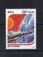 VIETNAM - 1988 - Tematica Spazio - Usato - (FDC17873) - Vietnam