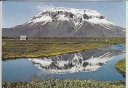 ICELAND - HERDUBREID, Vulkan, Volcano, Vulcano , Majestic Mountain In North Iceland - IJsland