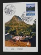 Carte Maximum Card Mont Choungui Mayotte 2002 - Brieven En Documenten