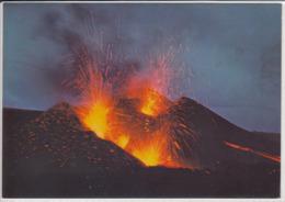 ICELAND - HEKLA Eruption 1970, Vulkan, Volcano, Vulcano , Majestic Mountain In North Iceland - IJsland