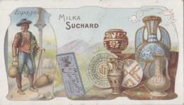 Chromos - Chocolat Suchard - Métiers Histoire Poterie Porcelaine - Pays Espagne - N° 5 - Suchard