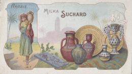 Chromos - Chocolat Suchard - Métiers Histoire Poterie Porcelaine - Pays Arabie - N° 7 - Suchard