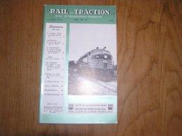 RAIL ET TRACTION N° 24 Revue Chemins De Fer Belgique SNCB SNCV Vicinal Littoral Mer Wagon SNCF Motrice Type N Tram - Spoorwegen En Trams