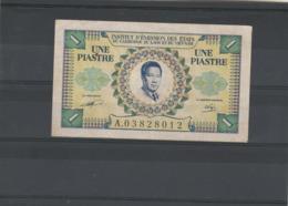 Cambodge Laos Viet Nam Billet 1953/1954 Non Daté 1 Une Piastre A 03828012 - Cambodge