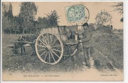 En Sologne - Un Charbonnier - Attelage - Coll. ND Phot N° 192 - France