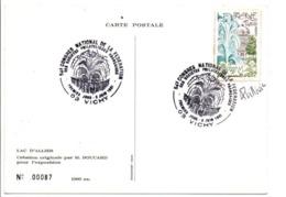 OBLITERATION CENTENAIRE DE L'ASCENSEUR A BATEAUX DE ARQUES PAS DE CALAIS - Postmark Collection (Covers)