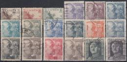 ESPAÑA 1949/1953 Nº 1044/1061 USADO REF.02 - 1931-50 Usati