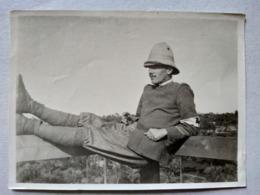Italie - Photographie Ancienne Militaire Italien- Tenue Coloniale - Brassard Infirmier Croix-Rouge - TBE - Guerra, Militari