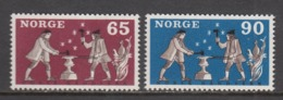 Norway MNH Michel Nr 564/65 From 1968 / Catw 1.30 EUR - Nuovi