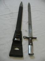 Ancien Baïonnette Pionnier Dents De Scie,old Sword , Sabre - Knives/Swords