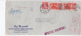 DENMARK - SPECIAL DELIVERY DENMARK COVER TO USA  FDC7360 - Danimarca