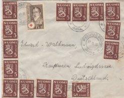 Finlande Lettre Pour L'Allemagne 1936 - Finland