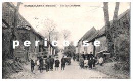 80  Humbercourt  Rue Lucheux - Francia