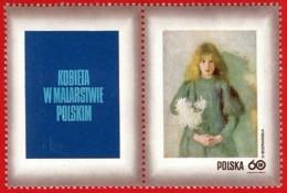 Polonia. Poland. 1971. Mi 2112. Women In Polish Paintings. Girl With Chrysanthemums, By Olga Boznanska (1865-1940) - Arte