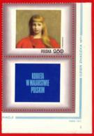 Polonia. Poland. 1971. Mi 2113. Women In Polish Paintings. Girl In Red Dress, By Jozef Pankiewicz (1866-1940) - Arte