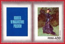 Polonia. Poland. 1971. Mi 2115. Women In Polish Paintings. Strange Garden (woman), By Jozef Mehoffer (1869-19468) - Arte