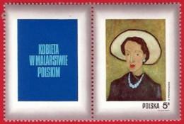 Polonia. Poland. 1971. Mi 2116. Women In Polish Paintings. Artist's Wife With White Hat. Zbiginew Pronaszko (1885-1958) - Arte