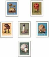 Polonia. Poland. 1980. Mi 2693 / 98. Mushrooms - Hongos