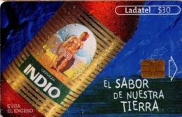MEXICO. BEER - CERVEZA - BIER. CERVEZA INDIO. Indio - El Sabor De Nuestra Tierra. 1ª Ed. Sn 2229. MX-TEL-P-0876A. (195) - México