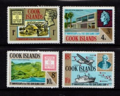 COOK  ISLANDS    1967    75th  Anniv  Of  First  Cook  Islands  Stamp    Set  Of  4    MNH - Cookeilanden