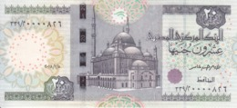 EGYPT 20 POUNDS EGP 2018 P-65 New SIG/T.AMER #24 LOW SERIAL 00008XX UNC */* - Egypt