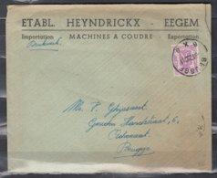 Brief Van Brugge BXB Naar Brugge - 1935-1949 Petit Sceau De L'Etat