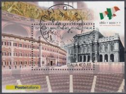 ITALIA 2011 Nº HB-57 USADO - 2011-...: Oblitérés
