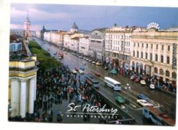 RUSSIA - AK 364134 Sankt Petersburg - Nevsky Prospekt - Russland