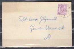 Kaart Van Brugge L - 1935-1949 Petit Sceau De L'Etat