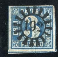 GS 1104 Bavaria 1850 Mi.#2 II (o) (cat.5.€) - Bavaria